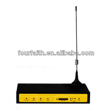 F3824 Support Vpn Cellular Industrial M2M LTE 4G Sim Router with Sim card slot for Remote Monitoring