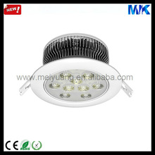Fitting 110mm hole 9W 27V commercial office/hotel/shop/family/bathroom ceiling lighting fixture covers MYK-TH9