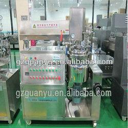 [2013 beauty cream making machine]CE whitening cream Cycling Heating vacuum beauty cream making machine