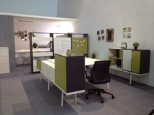 Modern open office workstation/office furniture corner workstation