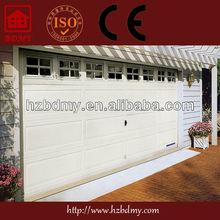 Fashion lift glass insert garage door