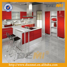 lacquer red kitchen cabinet with wide ranges color schemes