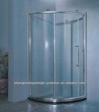 bonding for shower screen