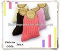 Baratos! Calcetines de lana hechos a mano al por mayor venta caliente populares las mujeres calcetines pequeños moq 100 prs al por menor puede
