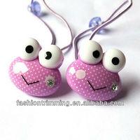 Wholesale Cute purple elastic strings hair accessories