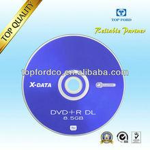 Dual Layer DVD 8.5GB 8X 10pcs Cake Direct Factory Supply