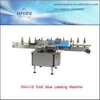 automatic wet glue labelling machine