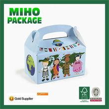 custom printed cardboard cupcake box