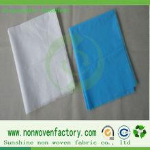 Polypropylene bedsheet used hospital beds