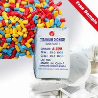 titanium dioxide anatase A300 fiber grade for Polyester fibers, Viscose fibers, Polyamide fibers