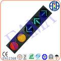 200mm led de señal de tráfico( r& de y la bola completa y verde flechas con su dirección opcional)