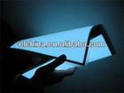 Custom thin el paper backlight