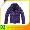 女性ナイロンタフタ201350d綿のコート
