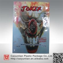 Hot selling joker 10g six generation herbal incense bags