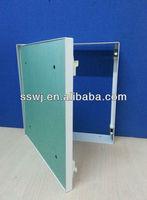 Steel tile door access panel with water resist green paper plaster board