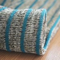 Knit dyeing poly rayon tr jersey fabric