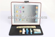 For ipad 2 case with credit card slot,leather case for ipad 2 3 4,case for ipad 2 3
