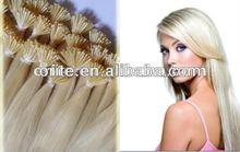 100%Keratin Human Hair Wooden Hair Sticks Wholesale