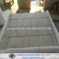 Tumble granite paver,pebble garden cheap