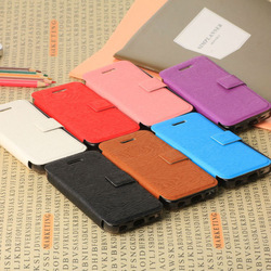 ultrathin credit card slot wallet leather case for iphone 5