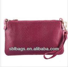 Purses and handbags luxury&carbon fiber wallet&ladies fashion black rivet bag