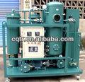 Zjc vide utilisé usine de Filtration d'huile de Turbine steam Turbine power station