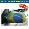 Custom Brazil Car Rear View Mirror Cover