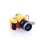 Mini Camera Key Chain with flash-Yellow