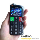 2013 new design senior people phone, super large buttons with powerful torch patent protection