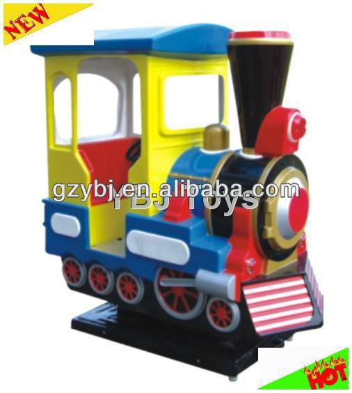 Two-seater locomotive swing machine