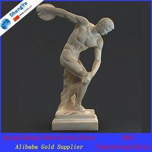 3D famous stone discobolus sculpture/statue