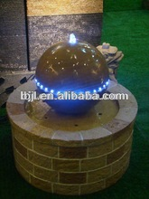 materials for decorative water fountains outdoor landscaping rocks crafts decorative led light sculpture