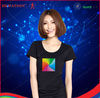 2013 China Supplier Online Shopping el ladies t-shirts panel for Christmas Gifts