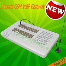 32 ports voip gsm gateway ip phone voip