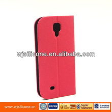 Premium leather case with PC for samsung s4