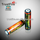 TrustFire 2800mah Samsung ICR 18650 rechargeable battery 3.7V li-ion battery cell Samsung with protected PCB made in China