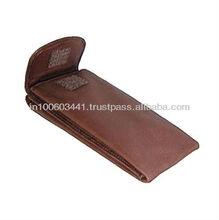 Soft Leather Eyeglass Case