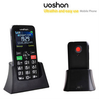 GSM unlocked dual bands big button telephone for old people,home cradle charger available