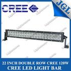 120w off road light bar 20 inch 8080 Lumen 12volt UTV ATV Side By Side mount aluminum housing double row light bar for 4wd