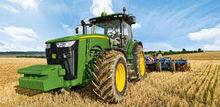 tractors, seeders, combine harvester