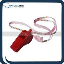 Football lanyard whistle plastic whistle referee whistle