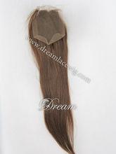 Light brown hair closure