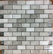 Silver Mosaic 2,3 X 4,8 Mosaic Tiles Turkish Mosaics For Interior Walls Marble Mosaics Travertine Tiles Emperedor Mosaics Turkey