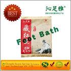 Saffron crocus Foot bath powder with essential oil for foot spa do well blood