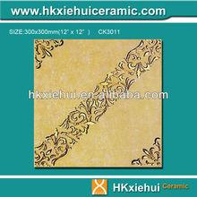 300x300mm bathroom flooring tile, crystal polished glazed ceramic floor tile