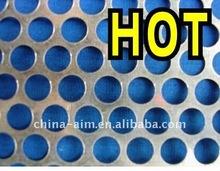 perforated metal ash bin