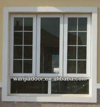 white color aluminum decorative modern window grill