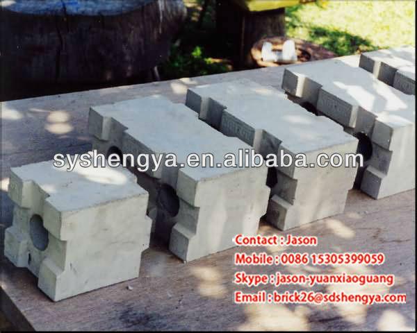 Mking Cellular Lightweight Concrete : Interlocking cellular lightweight concrete blocks making