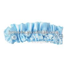Simple high-end pearl ribbon hair clip