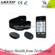 pulse Tracker Heart Rate Bluetooth 4.0 Chest Belt with Runtastic BlueFire EKG ndomondo APP